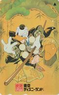TC JAPON / 110-207424 - DISNEY DISNEYLAND - Série Brune Costume 3/3 - DONALD BASEBALL - JAPAN Phonecard - Disney