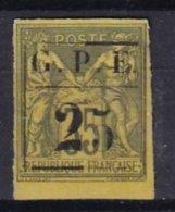 GUADELOUPE - 25 Sur 35 C. De 1894 Neuf Avec Gros 2 - Neufs