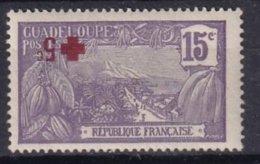 GUADELOUPE - 15 + 5 C. Neuf Avec Surcharge Renversée Probablement FAUX - Unused Stamps