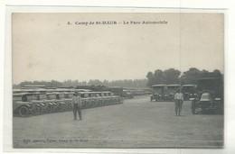 CPA 4 - Vincennes - Camp De Saint Maur - Le Parc Automobile - Jouvet Tabac Camp De Saint Maur 1917 - Vincennes