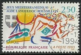 France 1993 - Variété Cicatrice Au Bras - 2795b Oblitéré - Variétés: 1990-99 Oblitérés