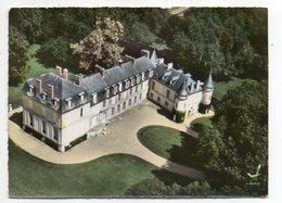 BORNEL -- En Avion Au-dessus De Bornel--Le Chateau  éd LAPIE --carte Coupée ........à Saisir - Autres Communes