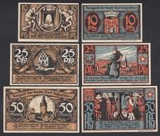 Bad Salzuflen 3 Stück 1921 Notgeld 10,25,50 Pfennig    (26404 - Zonder Classificatie