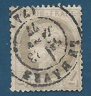 FRANCE - 1872 - Cérès - YT N°52 - 4 C. Gris - Oblitéré - TB Etat - 1871-1875 Cérès