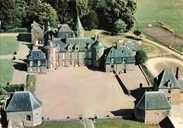 35 Pleugueneuc Vue Aerienne Du Chateau Cde La Bourbansais Parc Zoologique Terrain Tennis CPM - France
