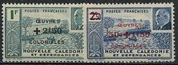 Nelle Calédonie, N° 244 à N° 245** Y Et T - Nouvelle-Calédonie