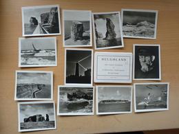 Helgoland Ordner Mit 12 Echte Alte Fotos Format 7x9cm - Non Classés