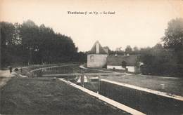 35 Tinteniac Le Canal Cpa - France