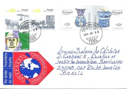 LSJP PORTUGAL COVER JOINT ISSUE WITH TURKEY 2011 - 1910-... Republic