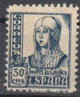 Spain One Stamp Mnh ** 1937 - 1931-Today: 2nd Rep - ... Juan Carlos I