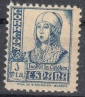 Spain One Stamp Mnh ** 1937 Cat 35 Euros - 1931-Today: 2nd Rep - ... Juan Carlos I