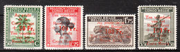 270/73**  Croix-Rouge - Série Complète - MNH** - LOOK!!!! - Congo Belge
