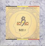 BOUDEWIJN * QP-set  500 Frank 1990 * Nr 5529 - 11. 500 Francs
