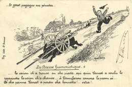 La Bresse Humoristique Le Goret Regagne Ses Pénates .. Cochon RV Beau Timbre 10c - Unclassified