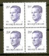 BELGIE * Nr 2135 P5 * Postfris Xx * HELDER PAPIER - 1981-1990 Velghe