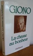 La CHASSE AU BONHEUR  Par Jean Giono - Livres, BD, Revues