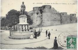 ANGERS : LA STATUE DU ROI RENE - Angers