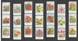 W842 1985 GRENADA FLORA FLOWERS #1280-300 !!! MICHEL 42,15 EURO BIG SET MNH - Plants