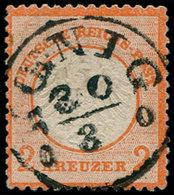 O ALL. EMPIRE - Poste - 8, Cac. Central Koenig: 2k. Orange (Michel) - Duitsland