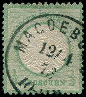 O ALL. EMPIRE - Poste - 14, Vert émeraude Grisâtre (Michel 17b) - Duitsland