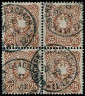 O ALL. EMPIRE - Poste - 40, Bloc De 4, Obl. Cad. 26/6/89, (Michel 43ca) - Duitsland