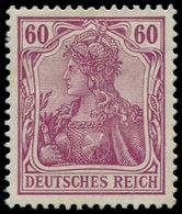 * ALL. EMPIRE - Poste - 90, Tirage Paix, Signé Hochstadter: 60pf. Lilas - Duitsland