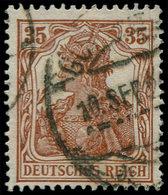 O ALL. EMPIRE - Poste - 102, Signé Hochstadter, (Michel 103c) - Duitsland
