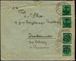 ALL. EMPIRE - Poste - 269, Paire, 1 Ex.  20 Lignes Pour 21 + 282 Paire Sur Enveloppe 18/10/23 (petite Coupure), (Michel - Duitsland