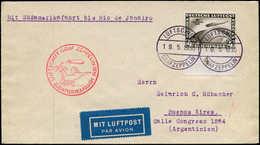 ALL. EMPIRE - Poste Aérienne - 39, Seul Sur Enveloppe 19/5/30, Bdf, Sudamerikafahrt, Cachet D'arrivé Rio 25/5/30 + Cache - Duitsland