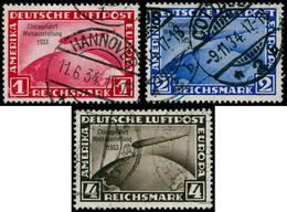 O ALL. EMPIRE - Poste Aérienne - 42A/C, Complet: Zeppelin Chicago Fahrt - Duitsland