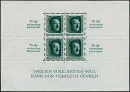 * ALL. EMPIRE - Blocs Feuillets - 11, Hitler Surcharge Nürnberg - Duitsland