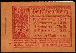 ** ALL. EMPIRE - Carnets - Michel MH 10.2A, Série 7, Février 1919, Carnet Complet 3 Marks (points De Rouille) - Duitsland