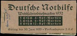 ** ALL. EMPIRE - Carnets - Michel 31, Complet 2Rm: Norhilfe 1932 (2 Ex. *) - Duitsland