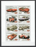 Y105 ANTIGUA & BARBUDA CARS FERRARI FORMULA 1 #4499-4506 1KB MNH - Autos