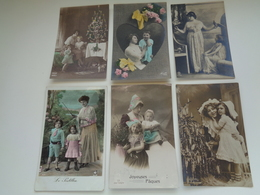Beau Lot De 60 Cartes Postales De Fantaisie  Mère + Enfant      Mooi Lot Van 60 Postkaarten  Moeder + Kind - 60 Scans - 5 - 99 Postkaarten