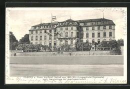 AK Engers A. Rhein, Kurfürstliches Schloss Von 1863-1914 Kriegsschule, Jetzt Heinrichhaus Der Josefsgesellschaft - Non Classés