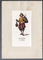 Les Cris De Paris :LE VENDEUR DE NOIX (gravure Offerte Par SECURITAS S.A.) (PPP11687) - Old Paper
