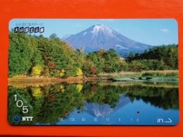 T-129 - JAPAN, JAPON, TELECARD, MAGNETIC PHONECARD NTT - 350-232 - Japon