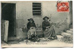 CPA - Carte Postale - France - Corrèze - Fileuse Et Payoleuse - 1907 ( I11732) - France