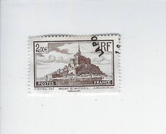 Timbre Issu Du Bloc Trésor De La Philatélie Mont Saint-Michel BS 12 ( N° 260 ) Oblitéré - Otros