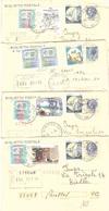 4 BIGLIETTO POSTALE ANNULLO STRONA VC - Stamped Stationery