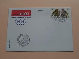 V.Z.W. TIPOC TIENEN 3300 ( De Post Olympisch Sponsor ) 13-6-1992 ( Enveloppe / Omslag > Detail : Zie Foto ) R 488 Bis ! - Privados & Locales