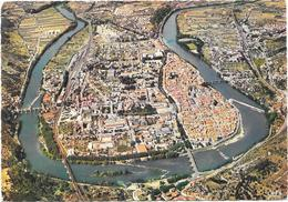 CAHORS : VUE GENERALE AERIENNE - Cahors