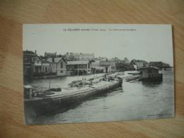 Cpa 44 Le Pellerin    Inondation Inondations  Peniche - Francia