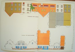 Maison De Boule & Bill, De Sophie Et Prison De Bobo. - Maquettes En Carton + Plan. - Spirou 1979 - Spirou Magazine