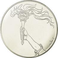 United Kingdom , Médaille, Etats-Unis D'Europe, FDC, Silvered Bronze - Royaume-Uni