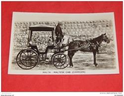 MALTA - MALTA  -  Maltese Cab. (carrozin)  -  Cabriolet Maltais - Malte