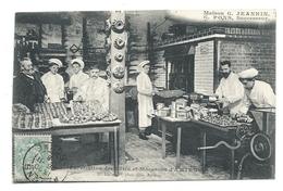 AMIENS (Somme, 80) Maison G. JEANNIN, G. PONS  Successeur - Fabication De Pâtés Et Macarons - Intérieur De L'atelier - Amiens
