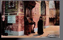 REF 467 : CPA Grece Greece Hellas Salonique Intérieur De La Mosquée St Sophie - Greece