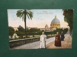 Cartolina Roma - S.S. Pio X Nei Giardini Vaticani - 1920 - Roma
